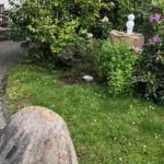 Zierbrunnen, Manneken Pis, Brüssel; modern, Designerbrunnen, witzig, weiß, Gartenbrunnen