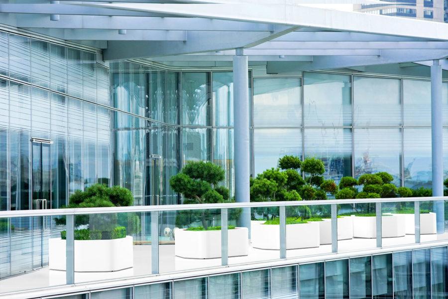 7626 Slink Cloud Pflanzgefaess modern Architektur organisch