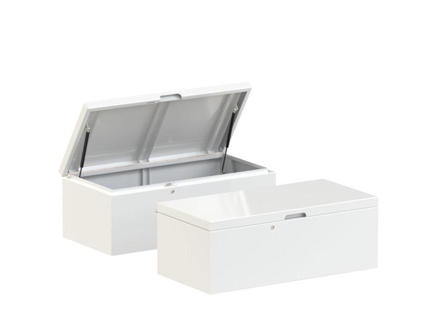 Slink Stow Gartenbox Aluminium Terrassenbox Kissen Moebel